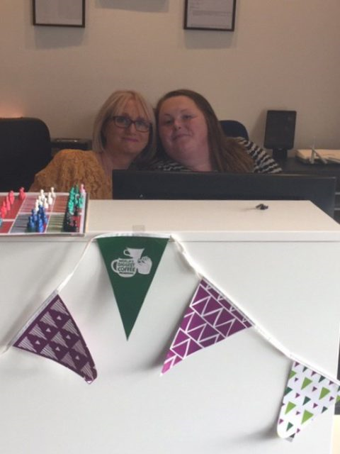 Obsidian's Macmillan Coffee Morning