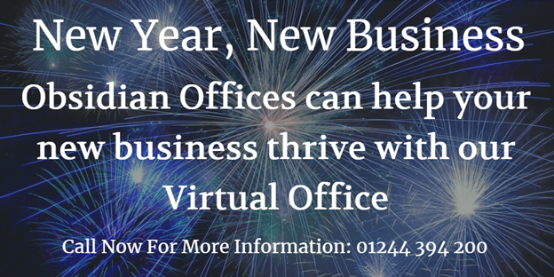 New Year, new business, virtual office, obsidian offices